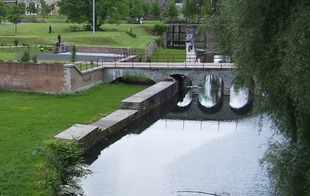 Ecluse des repenties et parc de la citadelle - Valenciennes