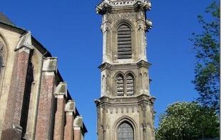 Eglise St Géry et beffroi - VALENCIENNES - Valenciennes