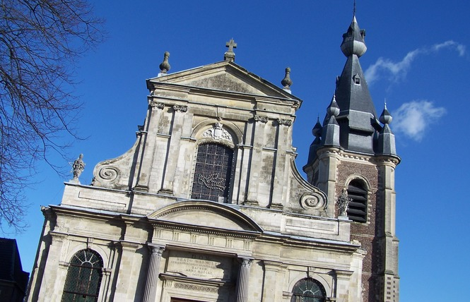 Eglise St Wasnon - CONDE SUR L'ESCAUT 1 - Condé-sur-l'Escaut