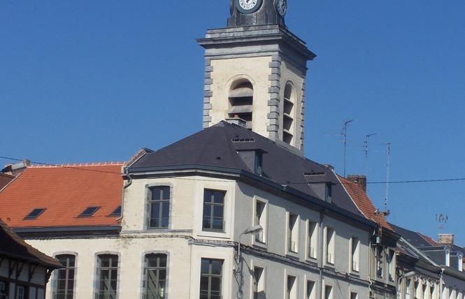 Ensemble Beffroi-corps de garde 1 - Condé-sur-l'Escaut
