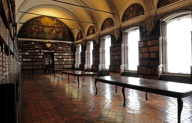 Bibliothèque et église St Nicolas - VALENCIENNES 1 - Valenciennes